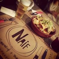 Photo taken at Naif Sandwich & Bar by Veronica G. on 9/29/2012