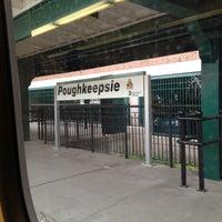 Photo taken at Poughkeepsie Station - Metro North & Amtrak by Albina P. on 10/13/2012