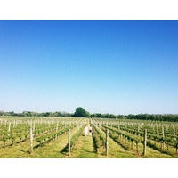 Photo taken at Sparkling Pointe Vineyards by Angel S. on 6/1/2013