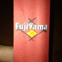 Photo taken at Fujiyama by Guilherme M. on 5/2/2013