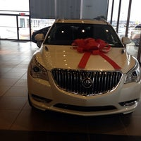 Photo taken at Ballas Buick GMC by Lawrence B. on 12/3/2013