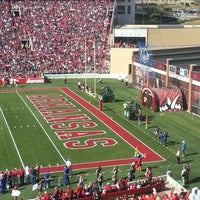 Photo taken at Donald W Reynolds Razorback Stadium by Neal S. on 11/3/2012