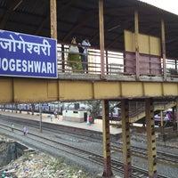 Photo taken at Jogeshwari Railway Station by JK on 11/11/2015