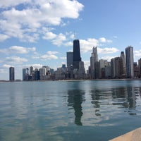 Photo taken at Chicago Lakefront by Emily on 4/26/2013