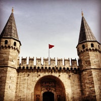Photo taken at Topkapı Palace by Rita S. on 3/25/2013