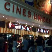 Photo taken at Cines Unidos by Antonietta P. on 11/2/2012