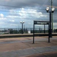 Photo taken at NJT - Frank R. Lautenberg Secaucus Junction Station by Maria Jesus V. on 7/3/2013