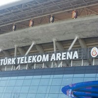 Photo taken at Odeabank Tribünü by MRV👑 K. on 5/18/2013