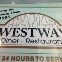 Photo taken at Westway Diner by David Andrew A. on 5/26/2013