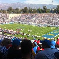 Photo taken at Rose Bowl Stadium by Arif B. on 10/13/2012
