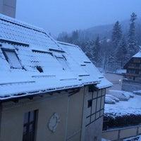 Photo taken at Hotel Bucegi by Sorina P. on 12/27/2014