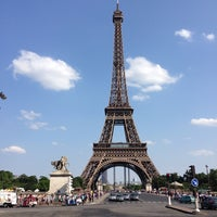 Photo taken at Eiffel Tower by Jaime A. on 7/20/2013