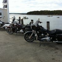 Photo taken at Bar Harbor Pier by Jerome N. on 10/2/2012