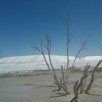 Photo taken at Salinas del Bebedero by Miguel L. on 12/30/2013
