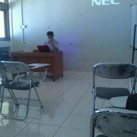 Photo taken at Gedung Ilmu Komputer (GIK) by Misianita H. on 10/30/2012