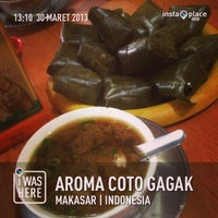 Photo taken at Aroma Coto Gagak by Ririe G. on 3/30/2013