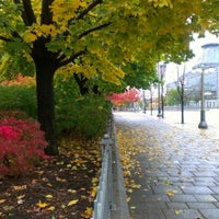 Photo taken at Major's Hill Park by KW on 10/19/2012