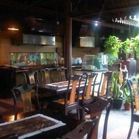 Photo taken at Kebon Kota Tropical Restaurant & Cafe by Khairil A. on 12/19/2013