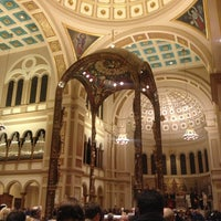 Photo taken at Franciscan Monastery of the Holy Land in America by Sean O. on 12/25/2012