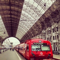 Photo taken at Kievsky Rail Terminal by Diana T. on 5/19/2013