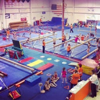 Photo taken at Gymquarters Gymnastics Center by LB P. on 12/20/2012