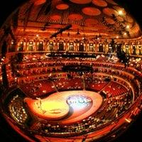 Photo taken at Royal Albert Hall by Jonathan C. on 2/21/2013