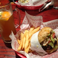 Photo taken at Red Robin Gourmet Burgers by Ben S. on 12/7/2012