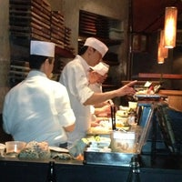Photo taken at Blue Ribbon Sushi by Monica A. on 2/24/2013