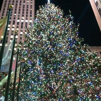 Photo taken at 30 Rockefeller Plaza by Patrick A. on 12/6/2012
