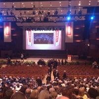 Photo taken at Koncertna dvorana Vatroslava Lisinskog by Diana R. on 5/25/2013