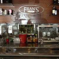Photo taken at Fran's Café by Herminegildo N. on 12/13/2012
