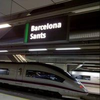Photo taken at Barcelona Sants Railway Station by Jordi S. on 3/15/2013