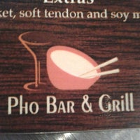Photo taken at Pho Bar & Grill DC by Jessica T. on 4/21/2013
