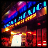 Photo taken at Cinema Mexico by Claudio N. on 3/8/2013