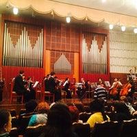 Photo taken at Кыргызская национальная филармония им. Т. Сатылганова by Omer D. on 2/14/2014