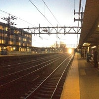 Photo taken at Metro North - Greenwich Station by Sandy J. on 12/3/2012