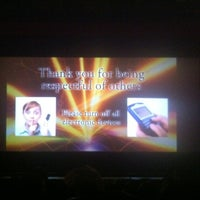 Photo taken at AMC Starplex Cinemas Galaxy 16 by Jose R. on 12/29/2012