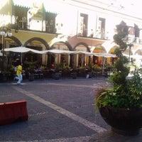 Photo taken at Los Portales de Puebla by Roca S. on 11/10/2012