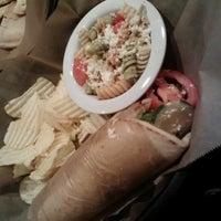 Photo taken at Taziki's Mediterrranean Cafe by Sheldon R. on 10/6/2012