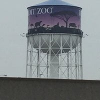 Photo taken at Detroit Zoo Water Tower by Briana K. on 1/8/2016