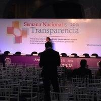 Photo taken at Antigua Sede del Senado de la República by Hiriam E. on 9/29/2014