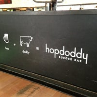 Photo taken at Hopdoddy Burger Bar by Jenny D. on 3/7/2013