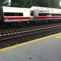 Photo taken at Metro North - East Norwalk Train Station by Sharon T. on 7/14/2013