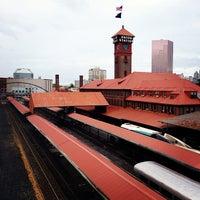 Photo taken at Union Station Amtrak (PDX) by Jonny B. on 10/16/2012