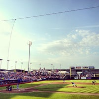 Photo taken at Werner Park by Shannon M. on 7/14/2013