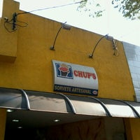 Photo taken at Sorveteria Artesanal Chup's by Ricardo José d. on 10/7/2012