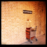 Photo taken at Platform 9¾ by Trish M. on 12/21/2012