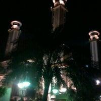 Photo taken at Masjid Agung AL-BARKAH Bekasi ® by Iha K. on 7/15/2013