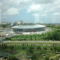 Photo taken at Donbass Arena / Донбасс Арена by Dmitri E. on 5/25/2013
