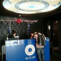 Photo taken at Porcelain Hotel by Shimizu Y. on 10/20/2012